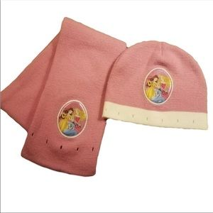 Other - Disney Princess Hat and Scarf Pink